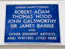 Adam, Robert - Hood, Thomas - Galsworthy, John - Barrie, Sir James (id=3)
