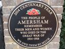 Amersham Great War Memorial (id=2466)