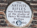 Artists Rifles - Phillips, Henry Wyndham