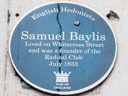 Baylis, Samuel (Radical Club) (id=2090)