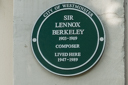 Berkeley, Sir Lennox (id=104)