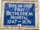 Bethlehem Hospital (First) Site (Bedlam) (id=1964)