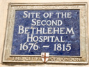 Bethlehem Hospital (Second) Site (Bedlam) (id=1641)