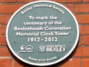 Bexleyheath Coronation Memorial Clock Tower (id=2484)