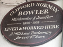 Bowler, Clifford Norman (id=141)