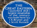Brunel, Isambard Kingdom - The Great Eastern - Russell, John Scott (id=1770)