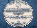 Collins, Peter - Writers Walk (id=3423)