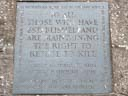 Conscientious Objectors Commemorative Stone (id=5012)