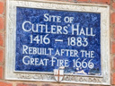 Cutlers Hall Site (id=1871)
