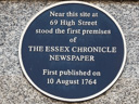 Essex Chronicle Newspaper (id=2217)
