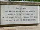 Farnborough War Memorial (id=3851)