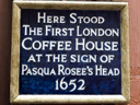 Jamaica Wine House (1st Coffee House in London) - Pasqual Rosee (id=1961)