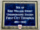 King William Street Underground Station Site (id=1876)