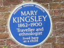 Kingsley, Mary (id=609)