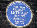 Lethaby, William Richard (id=650)