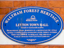 Leyton Town Hall - Johnson, John (id=2964)