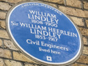 Lindley, William - Lindley, Sir WIlliam Heerlein (id=1486)
