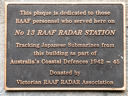 No 13 RAAF Radar Station (id=3311)