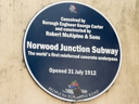 Norwood Junction Subway (id=2201)