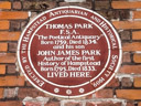 Park, Thomas - Park, John James (id=835)
