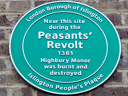 Peasants Revolt - Highbury Manor (id=2735)