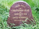 Police Plaque-Shepherds Bush Murders - Head, Christopher - Fox, Geoffrey - Wombwell, David (id=881)