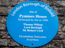 Pymmes House - Wilson, Thomas - Burleigh, Lord - Cecil, Sir Robert (id=3040)