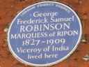 Robinson, George (Marquis of Ripon) (id=926)