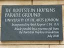 Rootstein Hopkins Parade Ground - Kapoor, Anish (id=5319)