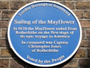 Sailing of the Mayflower - Jones, Christopher (id=2373)