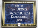 St Dionis Backchurch Site (id=1968)