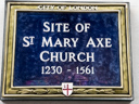 St Mary Axe Church Site (id=1965)