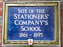 Stationers Company School Site (id=1852)