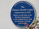 The Peckham Experiment - Pioneer Health Centre (id=2422)