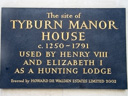Tyburn Manor House (id=1139)